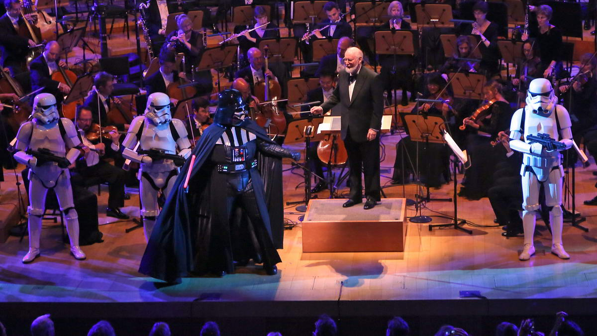 john williams star wars la philharmonic gala